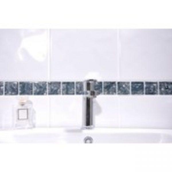 400x250 Cifre Ondulado Bumpy White Branded Tiles