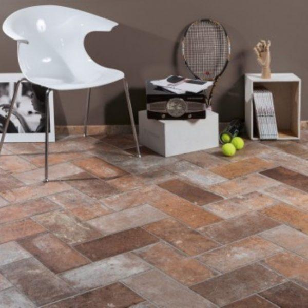 Flooring Tools Bristol: 250X060 Bristol Red Brick